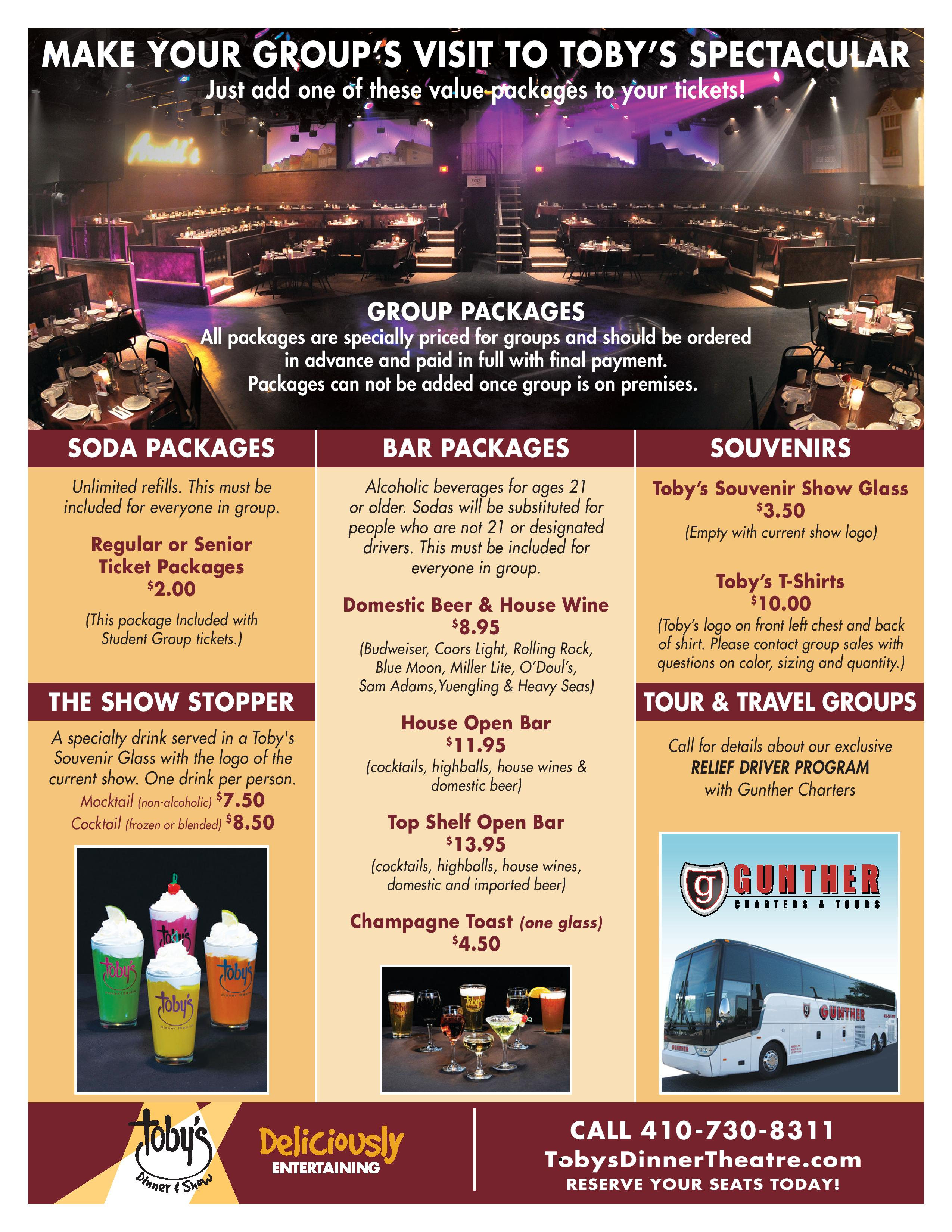 Group Sales Packages